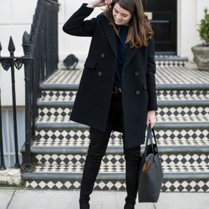 MODA International    Wool Dress Coat
